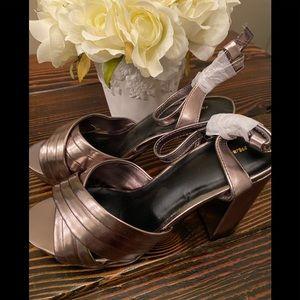 Mark Metallic Heels